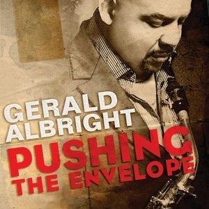 Album  Cover Gerald Albright - Pushing The Envelope on TELARC Records from 2010