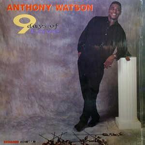 Album  Cover Anthony Watson - 9 Days Of Love on TASHAMBA / ECHO Records from 1991