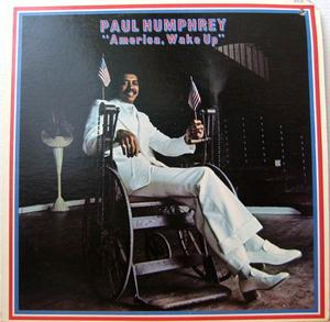 Album  Cover Paul Humphrey - America, Wake Up on BLUE THUMB Records from 1974