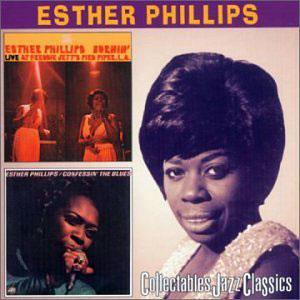 Album  Cover Esther Phillips - Confessin' The Blues on ATLANTIC Records from 1975