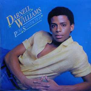 Album  Cover Darnell Williams - Pure Satisfaction on MY DISC (CBS) Records from 1983