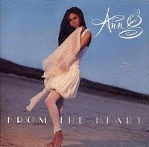 Album  Cover Anne G - From The Heart on ATLANTIC Records from 1991