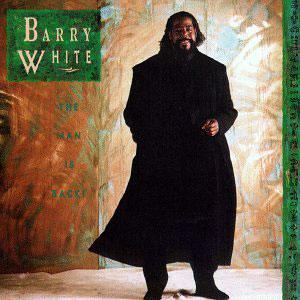 Album  Cover Barry White - The Man Is Back! on A&M Records from 1990