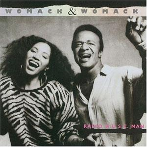 Album  Cover Womack And Womack - Radio M.u.s.c. Man on ELEKTRA Records from 1985