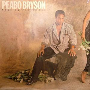 Album  Cover Peabo Bryson - Take No Prisoners on ELEKTRA Records from 1985