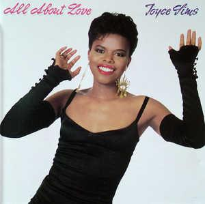 Front Cover Album Joyce Sims - All About Love