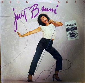Album  Cover Bruni Pagan - Just Bruni on ELEKTRA Records from 1979