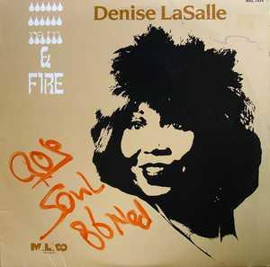 Album  Cover Denise Lasalle - Rain And Fire on MALACO Records from 1986