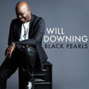 Front Cover Album Will Downing - Black Pearls
