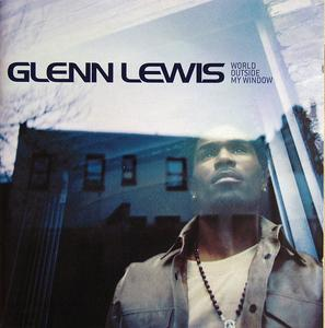 Album  Cover Glenn Lewis - World Outside My Window on EPIC Records from 2002