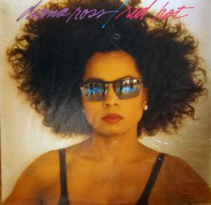 Album  Cover Diana Ross - Red Hot Rhythm N' Blues on RCA Records from 1987