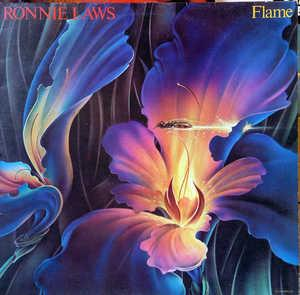 Album  Cover Ronnie Laws - Flame on UNITED ARTISTS Records from 1978