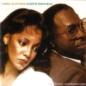 Album  Cover Curtis Mayfield - The Right Combination on RSO Records from 1980