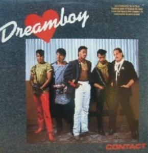 Album  Cover Dreamboy - Contact on QWEST Records from 1984