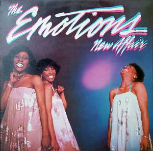Album  Cover The Emotions - New Affair on ARC  Records from 1981