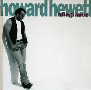 Album  Cover Howard Hewett - Allegiance on ELEKTRA Records from 1992