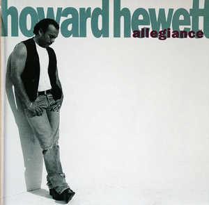 Album  Cover Howard Hewett - Allegiance on ELEKTRA Records from 1992