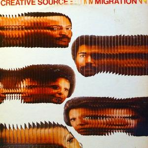 Album  Cover Creative Source - Migration on SUSSEX Records from 1974