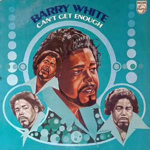 Front Cover Album Barry White - Can't Get Enough