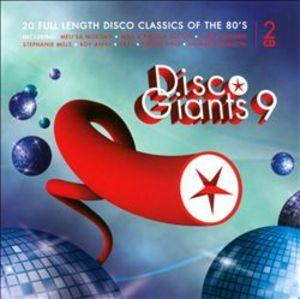 Front Cover Album Various Artists - Disco Giants 9