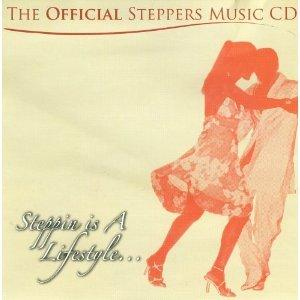 Album  Cover Various Artists - Official Steppers Music on DP/PDP Records from 2005