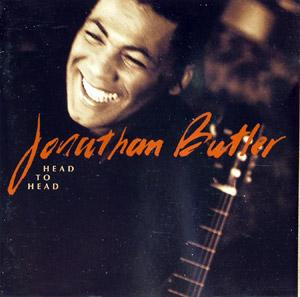 Front Cover Album Jonathan Butler - Head To Head