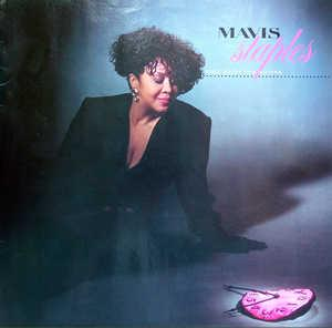 Album  Cover Mavis Staples - Time Waits For No One on PAISLEY PARK Records from 1989