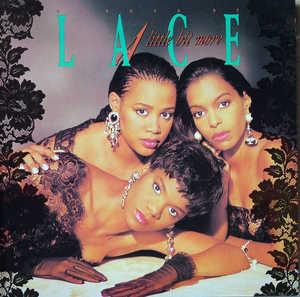 Album  Cover Lace - A Little Bit More on WING Records from 1989