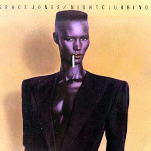 Album  Cover Grace Jones - Nightclubbing on ISLAND Records from 1981