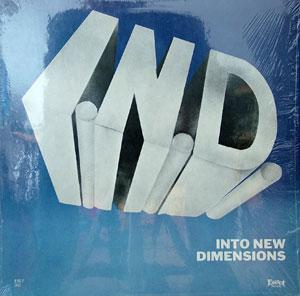 Front Cover Album I.n.d. - Into New Dimensions