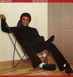Album  Cover Johnny Mathis - You Light Up My Life on COLUMBIA Records from 1978