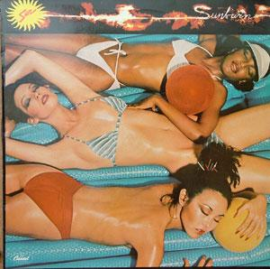 Album  Cover Sun - Sunburn on CAPITOL Records from 1978