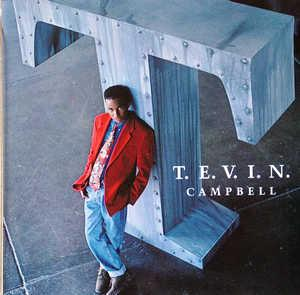 Front Cover Album Tevin Campbell - T.E.V.I.N