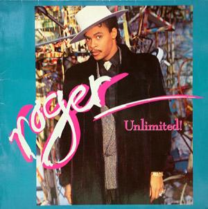 Album  Cover Roger Troutman - Unlimited! on REPRISE Records from 1987