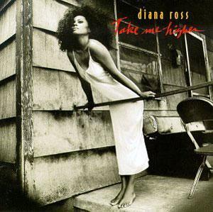 Front Cover Album Diana Ross - Take Me Higher
