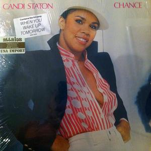 Album  Cover Candi Staton - Chance on WARNER BROS. Records from 1979