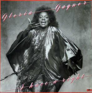 Front Cover Album Gloria Gaynor - I Have A Right