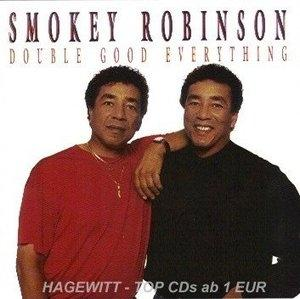 Album  Cover Smokey Robinson - Double Good Everything on SBK Records from 1991