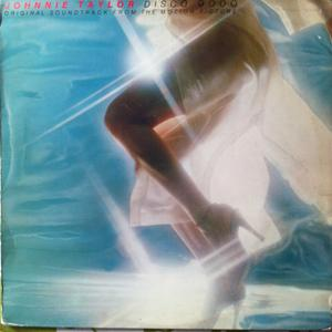 Album  Cover Johnnie Taylor - Disco 9000 on CBS Records from 1977