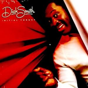 Album  Cover Dick Smith - Initial Thrust on WARNER BROS. Records from 1983