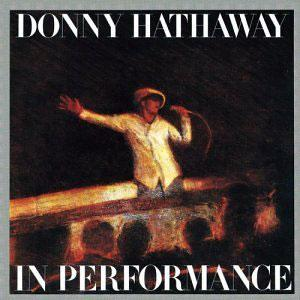 Front Cover Album Donny Hathaway - In Performance