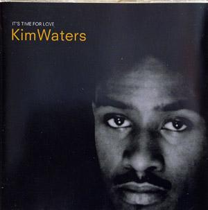 Front Cover Album Kim Waters - It's Time For Love