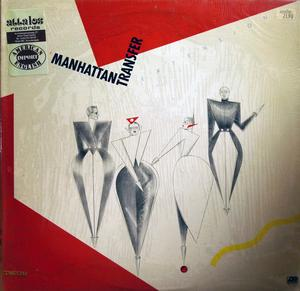 Album  Cover The Manhattan Transfer - Extensions on ATLANTIC Records from 1979