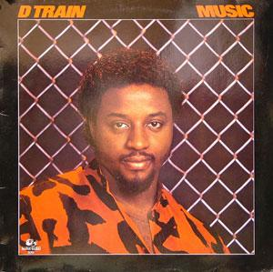 Album  Cover D-train - Music on RAMS HORN Records from 1983
