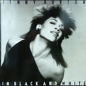 Album  Cover Jenny Burton - In Black And White on ATLANTIC Records from 1983