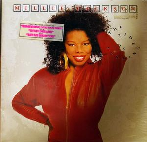 Front Cover Album Millie Jackson - The Tide Is Turning  | jive records | 1103-1-J | US
