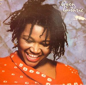 Album  Cover Gwen Guthrie - Gwen Guthrie on ISLAND Records from 1982