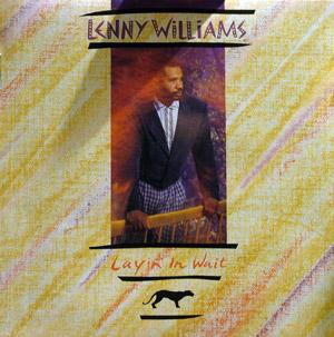 Album  Cover Lenny Williams - Layin' In Wait on CRUSH Records from 1989