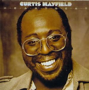 Album  Cover Curtis Mayfield - Heartbeat on RSO Records from 1979