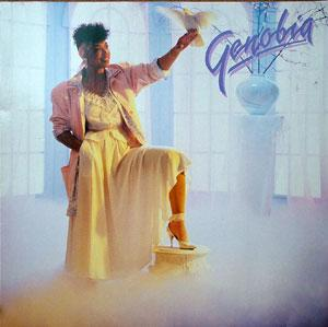 Album  Cover Genobia Jeter - Genobia on RCA Records from 1986